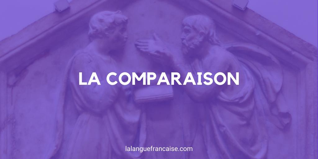 Comparaison - Figure de style [définition et exemples]