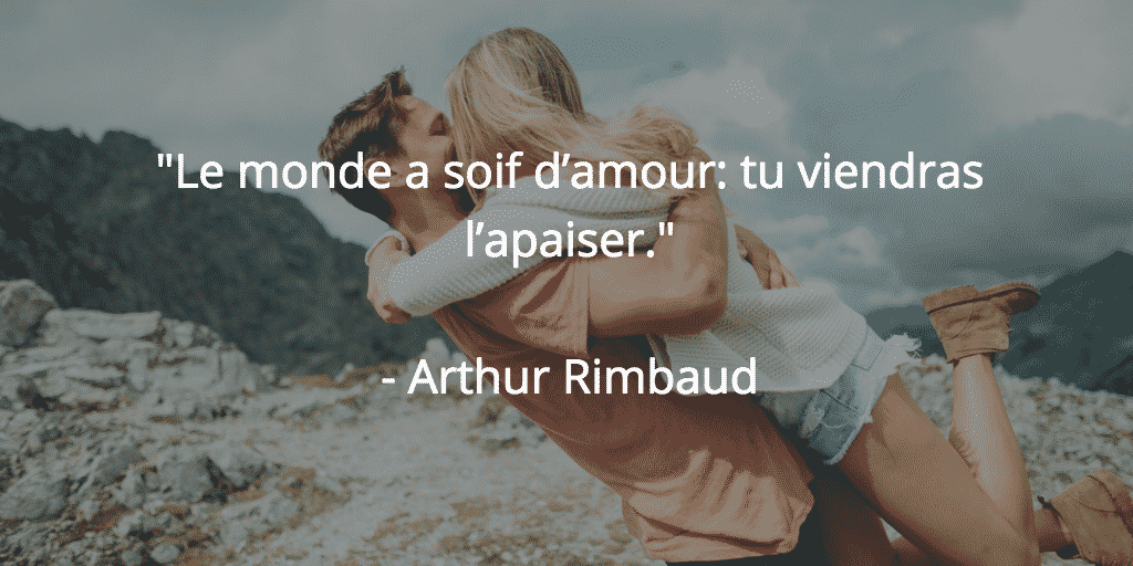 rimbaud amour