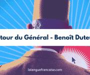 Benoît Duteurtre, Le retour du Général – critique