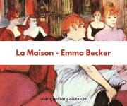 Emma Becker : La maison – critique