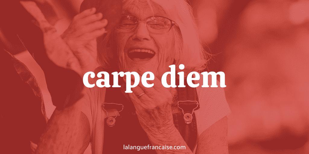 Carpe diem : définition et origine de l'expression