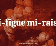 Mi-figue, mi-raisin : définition et origine de l'expression