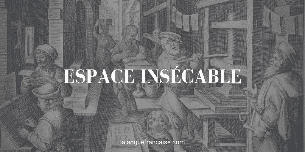 espace insécable