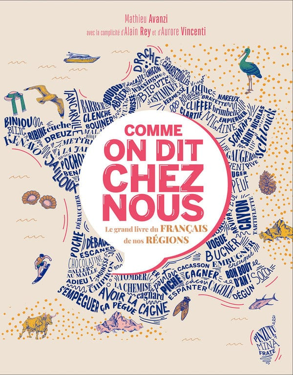 Lecture de Comme on dit chez nous de Mathieu Avanzi, avec la complicité d'Alain Rey et Aurore Vincenti